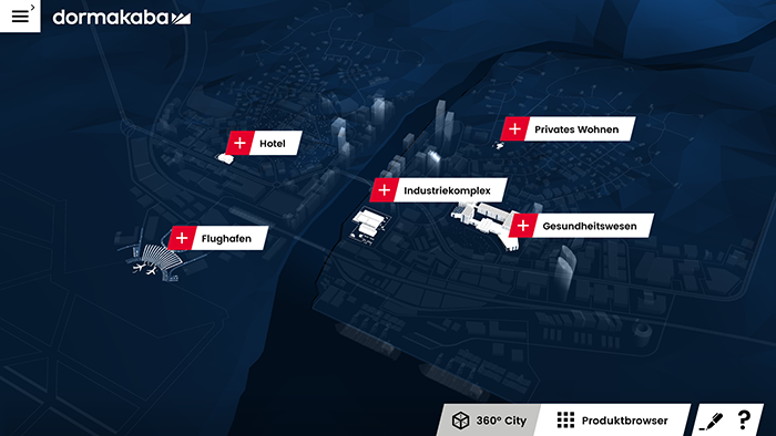 dormakaba App 360 City