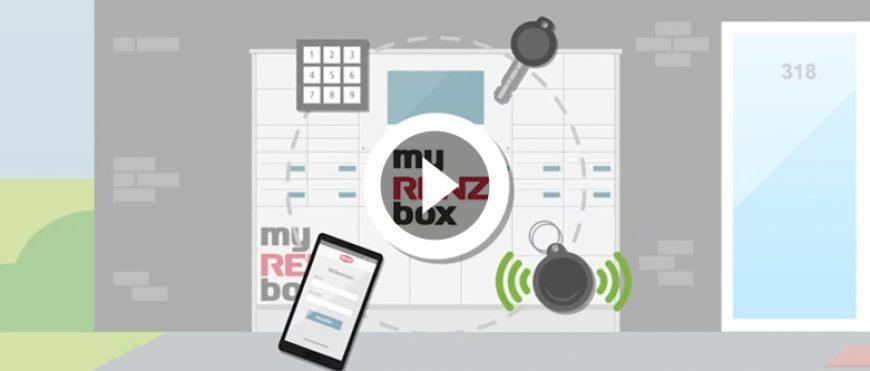 """FILM AB: """"myRENZbox Bewohnerverwaltung"""""""