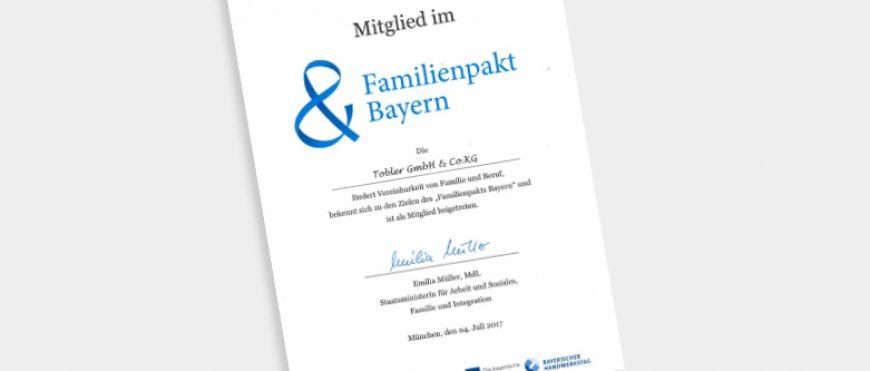 FAMILIENPAKT BAYERN –  WIR MACHEN MIT!